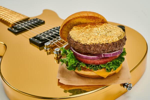 Gouden hamburger