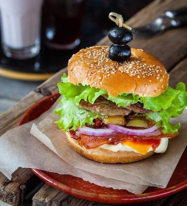 Instagrammable burger